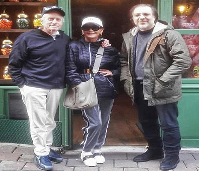 Hollywood Couple visits Istanbul