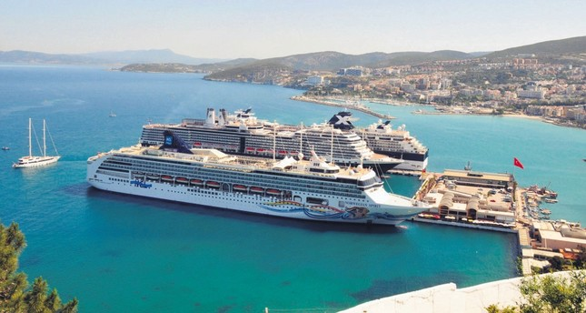 Cruise ships are back in the ports of Turkey