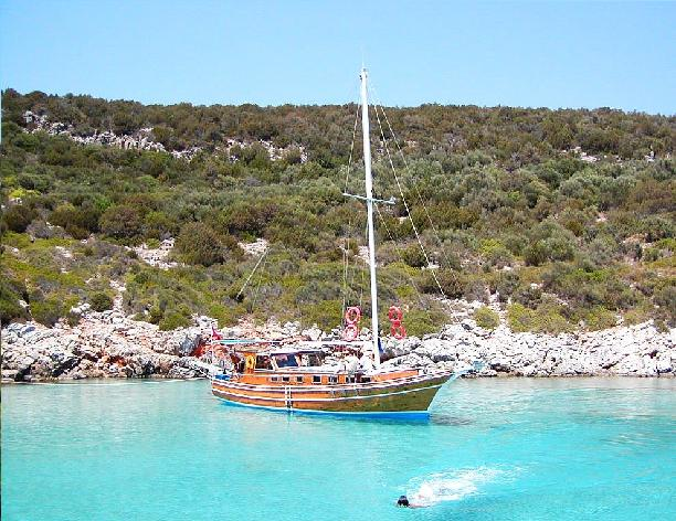 Why not try traditional Gulet Cruising, or maybe a short daily boat trip both on offer in Bodrum