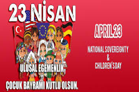 23rd April Children's Day!!