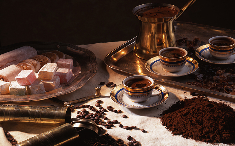 The history and traditions of Turkish Coffee
