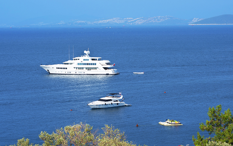 Antalya takes third place in luxury yacht production