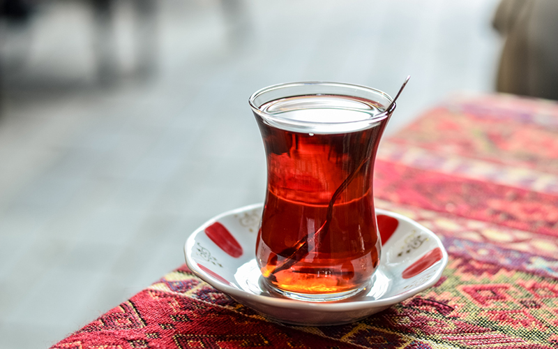 It's always time for Turkish tea