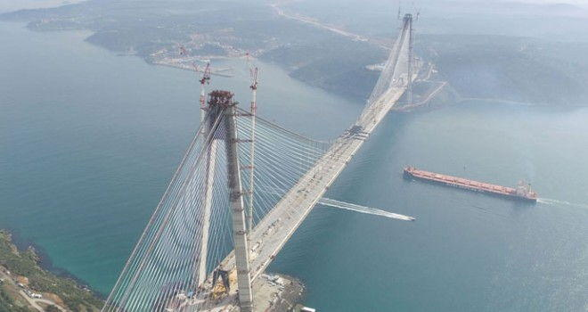 Istanbul's 3rd Bridge over the Bosphorus Strait opens